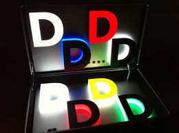 3d svetleca slova, 3d svetlece reklame, 3d reklame, izrada, cene, cena, cenovnik, beograd, srbija