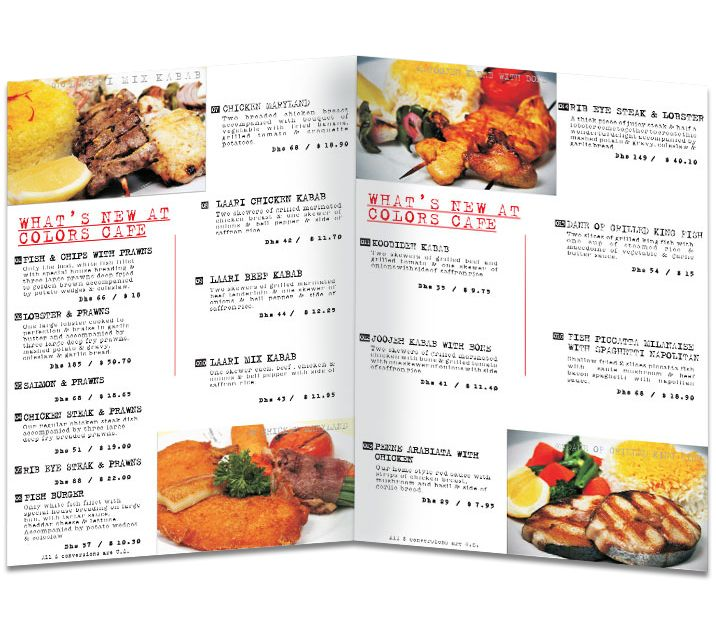 izrada jelovnika za restorane, slike, cene, cena, beograd