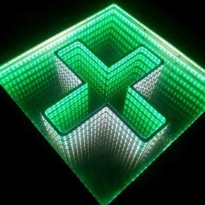 Izrada svetlecih reklama, apotekarskih krstova sa led diodama, cene, cena, cenovnik, beograd, srbija